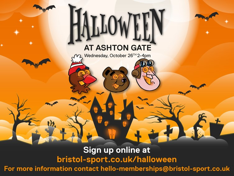 Spooktacular Halloween Event At Ashton Gate - Free To Members
