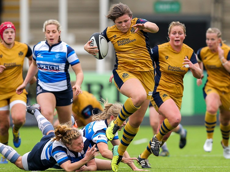 REPORT: Darlington Mowden Park 10-67 Bristol Ladies