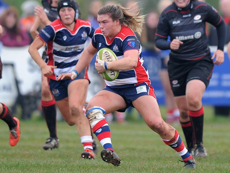 Report: Bristol Ladies 27–5 Saracens Women