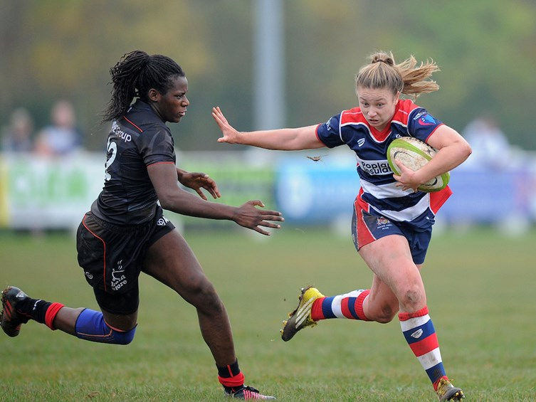 Gallery: Bristol Ladies 27-5 Saracens Women