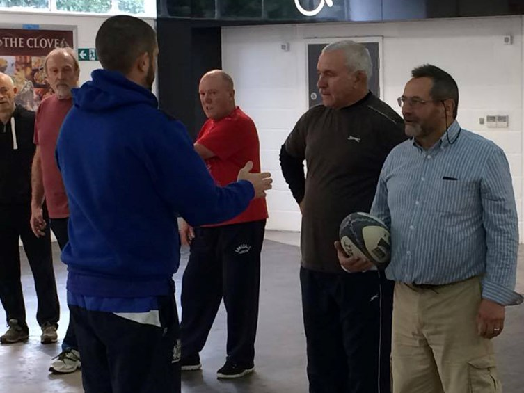 VIDEO: Walking Rugby Kicks Off At Ashton Gate
