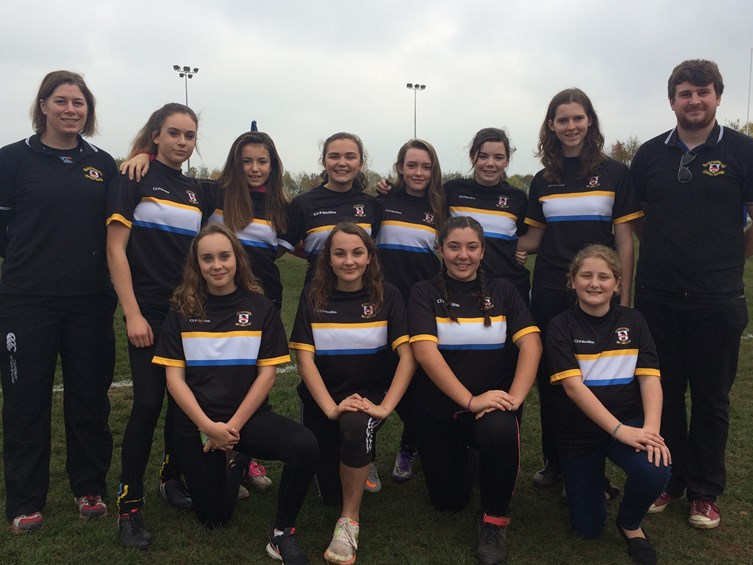 Video: Bristol Ladies Inspire Nailsea Girls Rugby Team