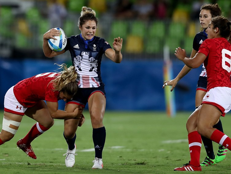 England Women Sevens Finish Second In Pool