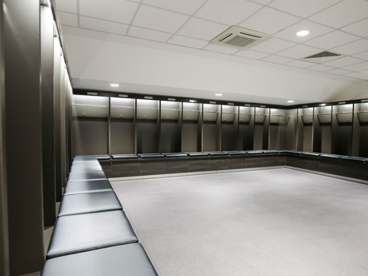 New Lansdown Stand Dressing Rooms Unveiled