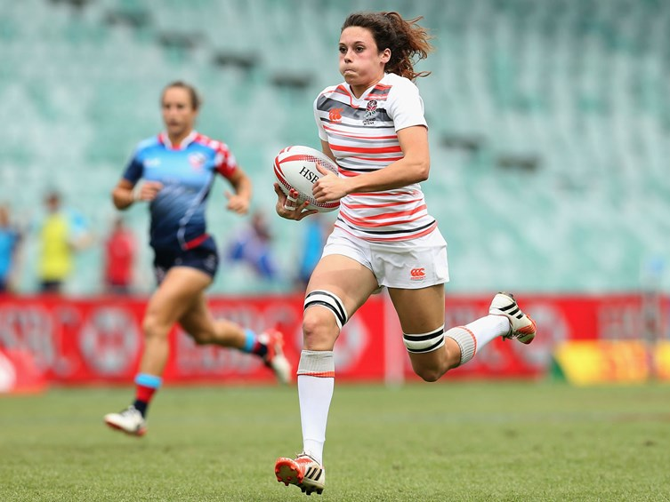 England Women Sevens Finish Third In Pool In Sydney