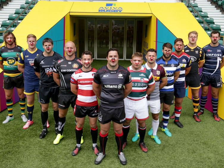 Premiership Rugby Backing Red Nose Day