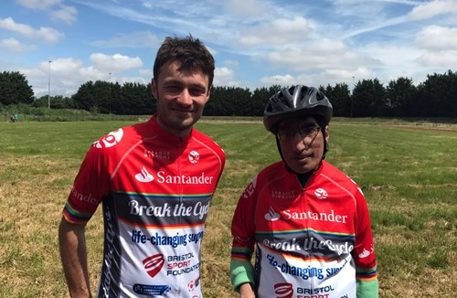 Video: Inspirational Raj conquers Break the Cycle 2017