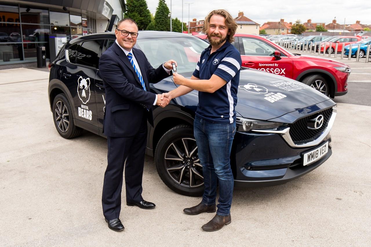 Wessex Garages Revealed As Official Media Vehicle Sponsor Of Bristol
