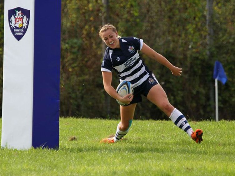Report: Bristol Ladies 45-0 Aylesford Bulls