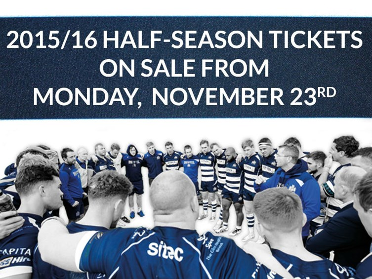 Half-Season Tickets Now On Sale to Members
