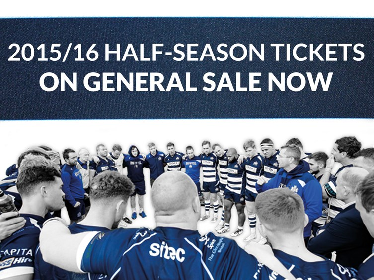 Half Season Tickets Now On General Sale