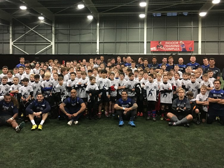 Bristol's Community Rugby Camp Kicked-off Today