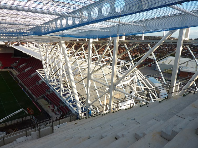 Ashton Gate Update: West Stand Taking Shape
