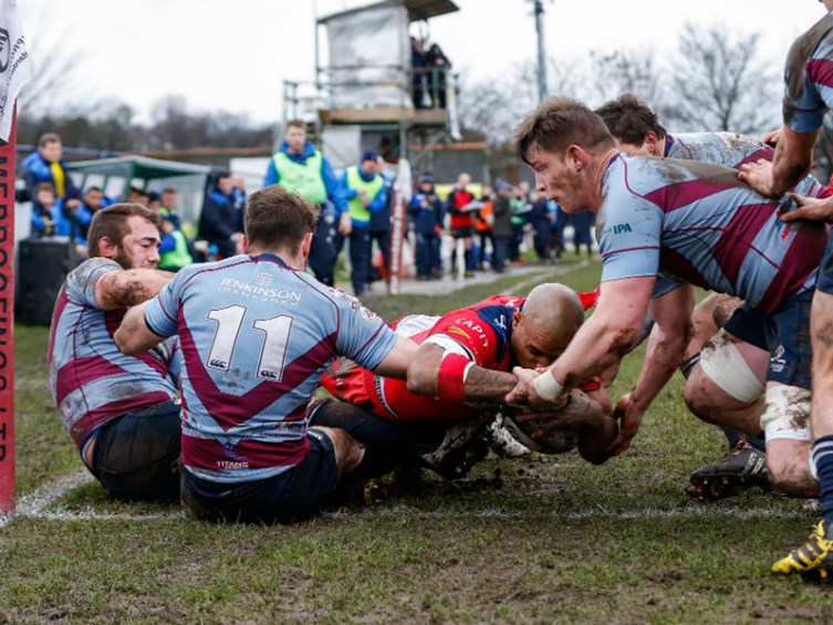 VIDEO: Rotherham Titans vs Bristol Rugby