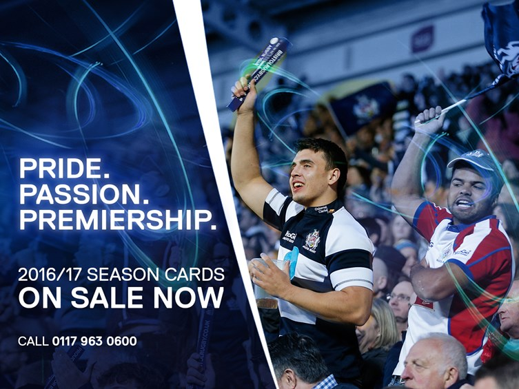 2016/17 Season Cards On Sale