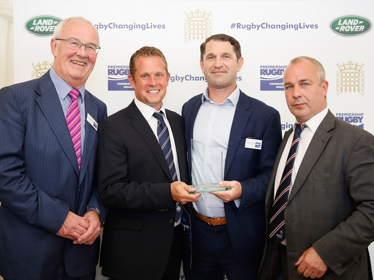 Bristol Rugby's Eagle Project Honoured At Parliamentary Awards