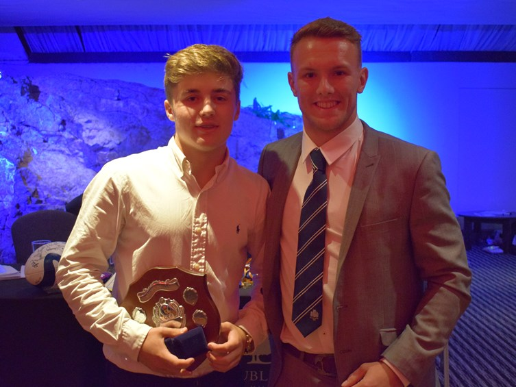 Carpenter Drops In For Nailsea School Awards Evening
