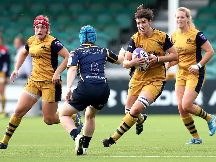 Video: Highlights from Worcester Valkyries 10-60 Bristol Ladies